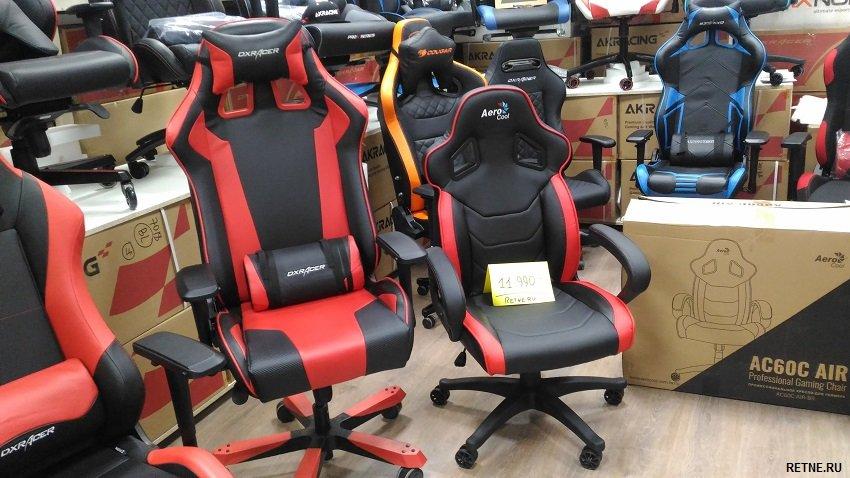 Игровое кресло Aerocool AC60C AIR