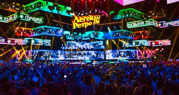 Новогоднее супершоу «Легенды Ретро FM 2018» с аншлагом прошло в двух столицах - Новости радио OnAir.ru