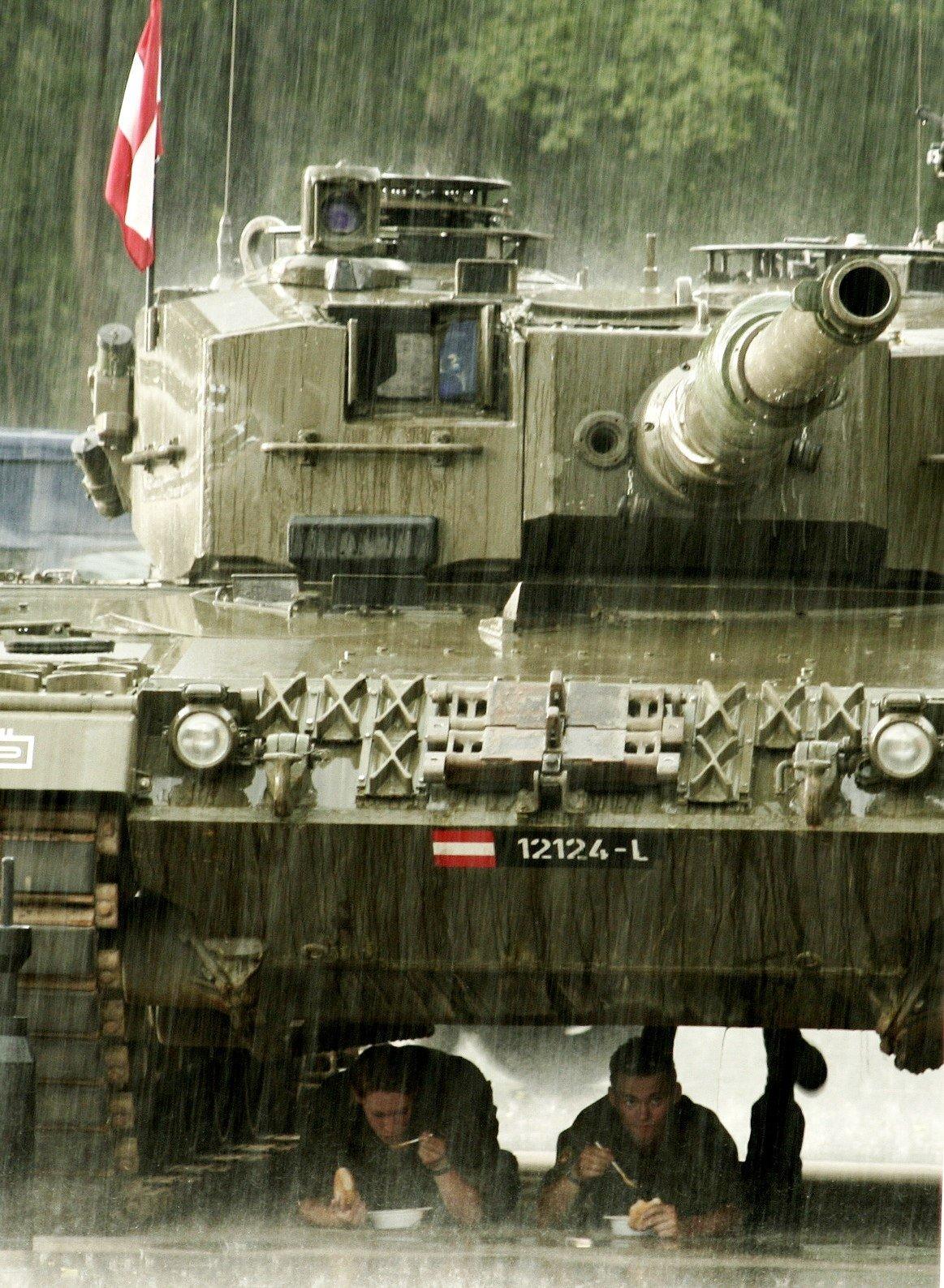 Леопард 2A4 Австрия