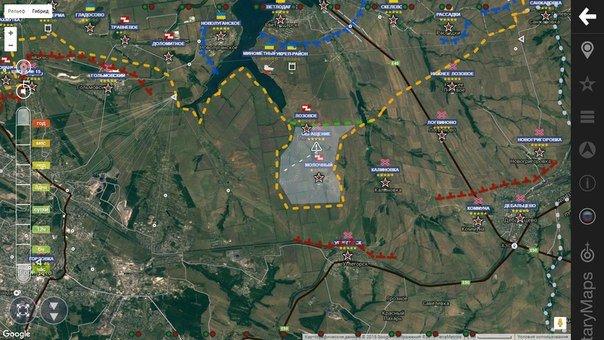 В район Светлодарской дуги прибыло подразделение российских снайперов, в направлении Юбилейного перемещено 10 грузовиков с боеприпасами и личным составом, - разведка - Цензор.НЕТ 5020