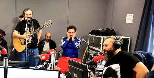 «Mgzavrebi» презентовали песни с нового альбома в прямом эфире на НАШЕм Радио - Новости радио OnAir.ru