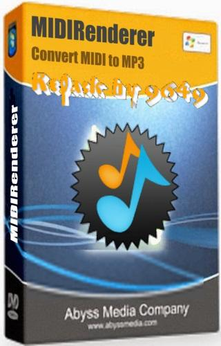 MIDIRenderer 3.8.0.0 RePack & Portable by 9649