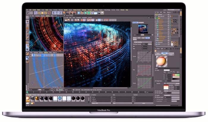 Apple анонсирует первый в мире 8-ядерный MacBook Pro с автономной работой в течение всего дня