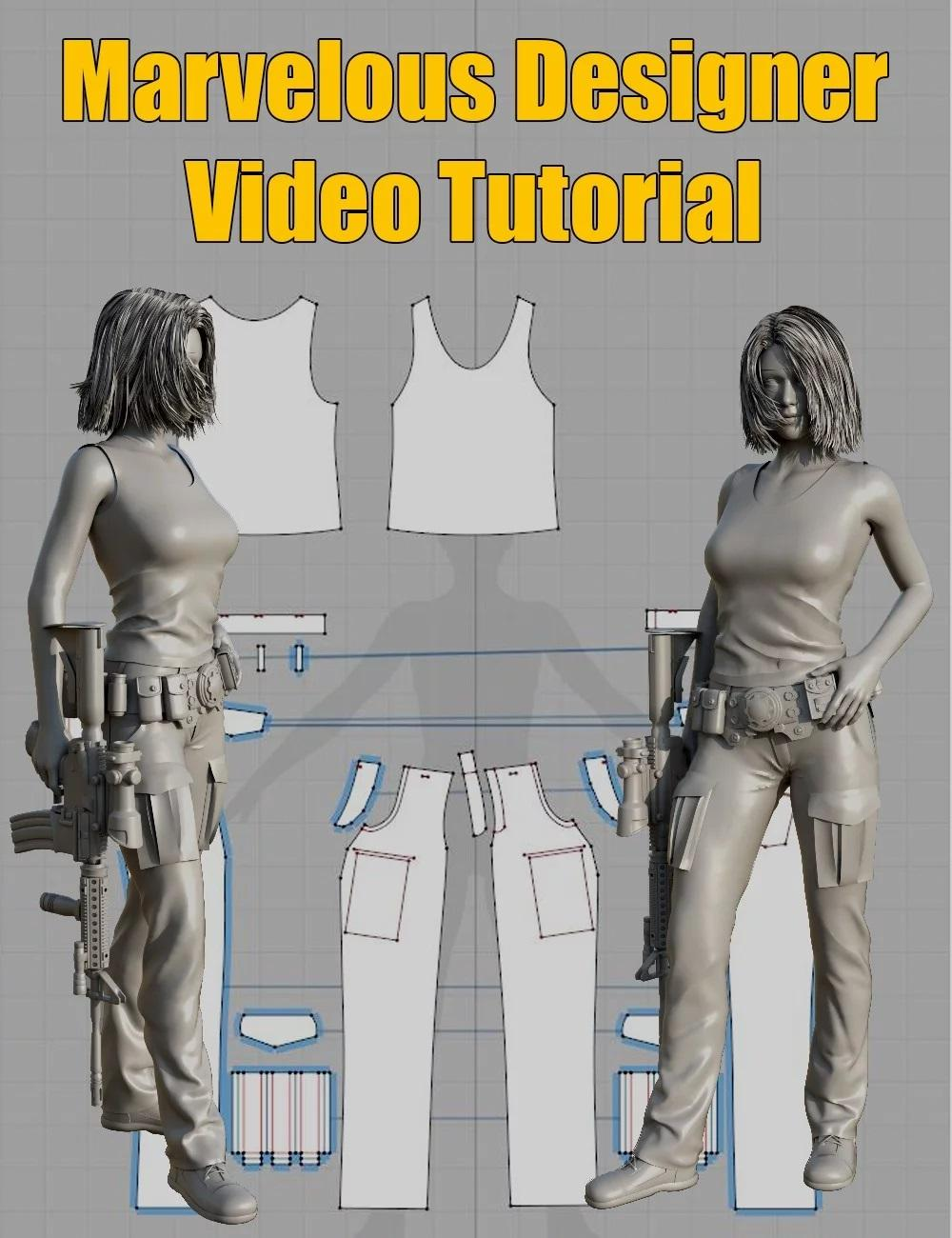Marvelous Designer Video Tutorial