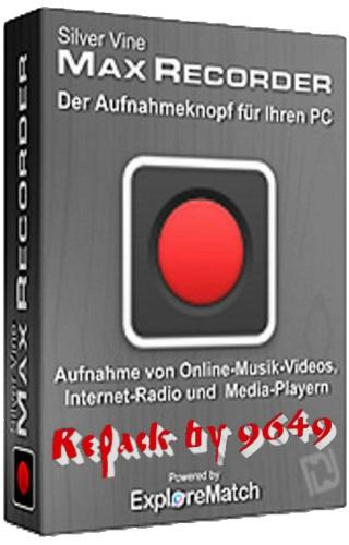 Max Recorder 2.008 RePack & Portable by 9649