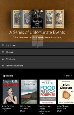Microsoft приносит электронные книги на Windows 10 и Windows 10 Mobile