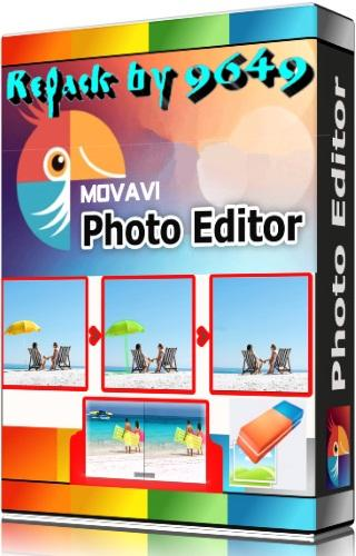Movavi Photo Editor 6.6.0  RePack & Portable by 9649