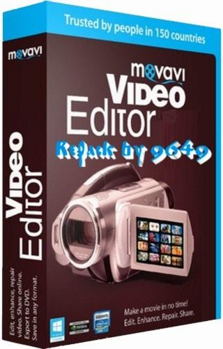 Movavi Video Editor Plus 15.0.1 RePack & Portable by 9649