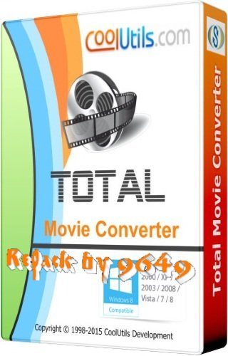 Coolutils Total Movie Converter 4.1.0.38 RePack & Portable by 9649