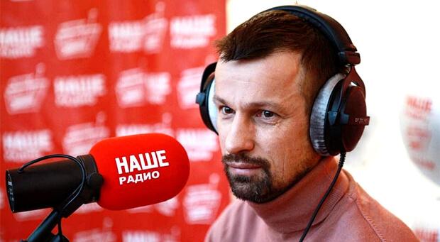 Главный тренер ФК «Зенит» в эфире утреннего шоу «Подъёмники» в Санкт-Петербурге