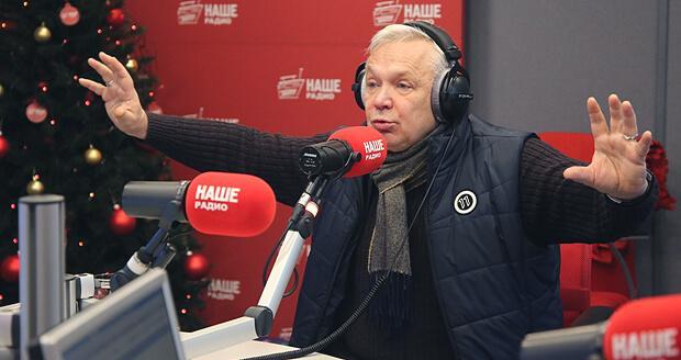 Василий Мищенко поздравил слушателей НАШЕго Радио с наступающим Новым годом - Новости радио OnAir.ru