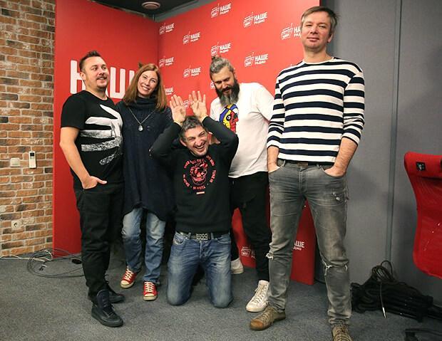 Основатели и бессменные лидеры группы «Ундервуд» в гостях утреннего шоу «Подъёмники» на НАШЕм радио - Новости радио OnAir.ru