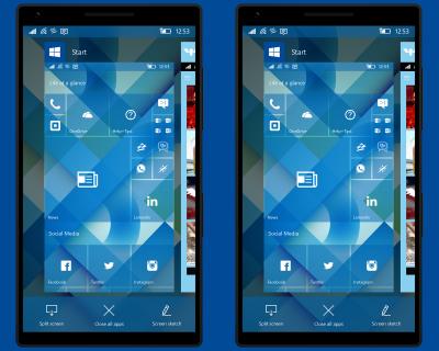 ОС Windows 10 Mobile получает Facelift и новые функции