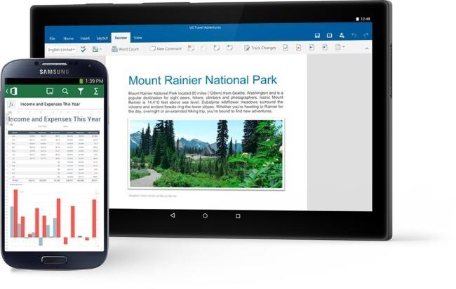 Обновление Microsoft Office для Android