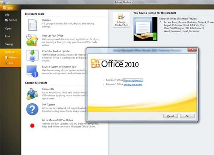 Как перенести Office 2010 на другой компьютер?