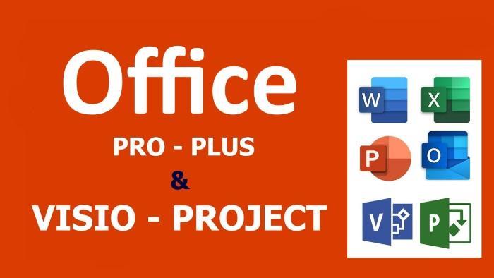 Активация приложений Microsoft Ofice / Visio и Project без учетной записи