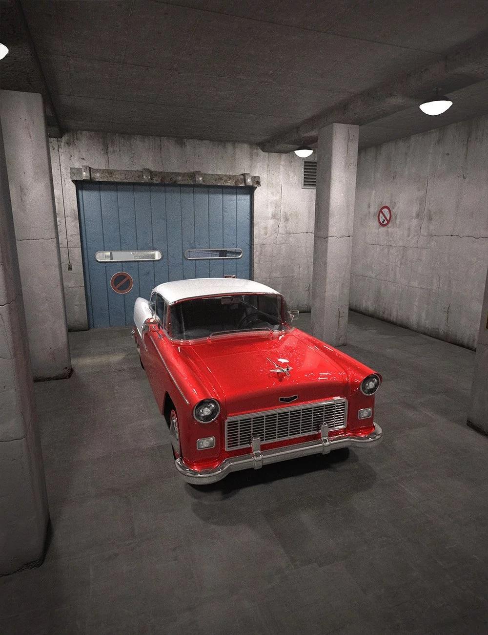 Old Garage Interior