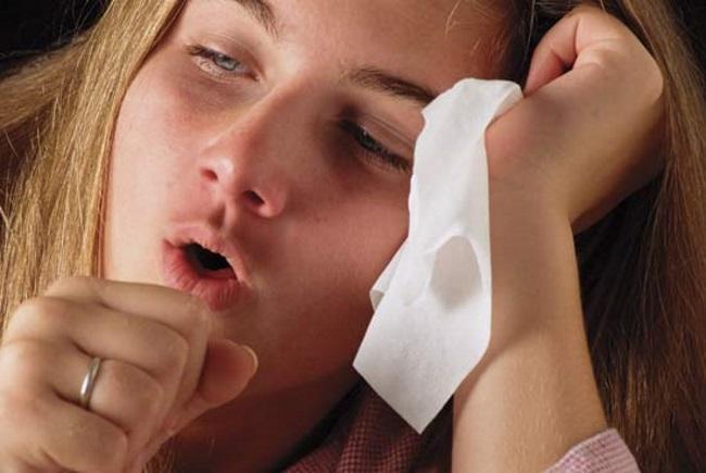 Причины чиха и кашля?