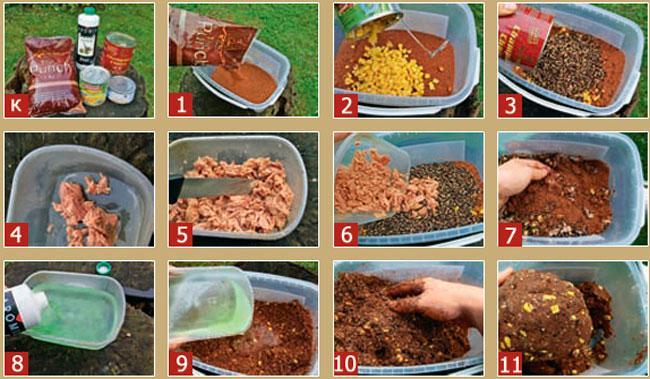Рецепты лучших прикормок для карася