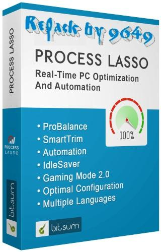 Process Lasso Pro 9.0.0.582 RePack & Portable by 9649