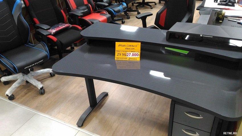 игровой компьютерный стол MaDXRacer ARENA