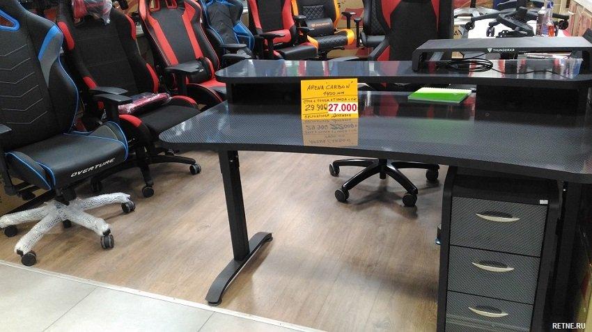 Профессиональный игровой компьютерный стол MaDXRacer ARENA