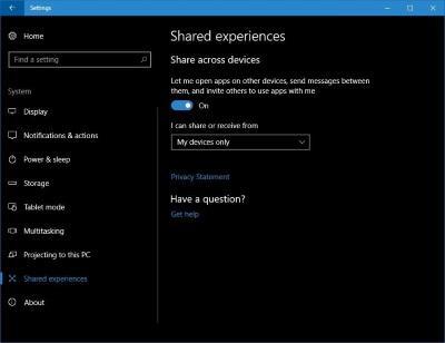 Microsoft объявляет обновления Project Rome с поддержкой Android