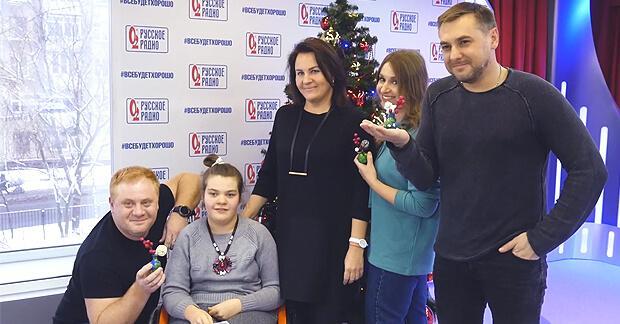 В преддверии Нового Года на «Русском Радио» случилось маленькое чудо - Новости радио OnAir.ru