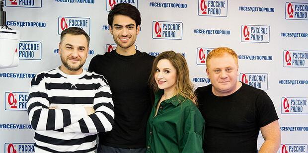 Итальянский певец Маттео Бочелли побывал в гостях у «Русских Перцев» - Новости радио OnAir.ru