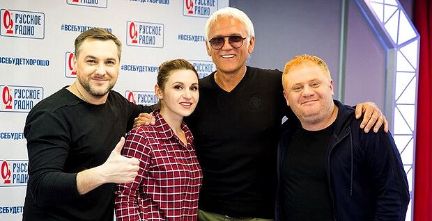 Александр Маршал стал гостем утреннего шоу «Русские Перцы» - Новости радио OnAir.ru