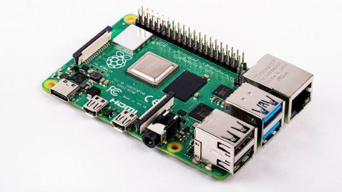 Одноплатный компьютер Raspberry Pi 4 уже в продаже