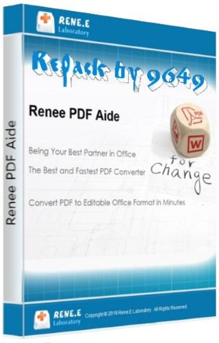 Renee PDF Aide 2019.7.1.83 RePack & Portable by 9649