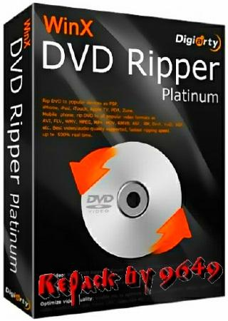 WinX DVD Ripper Platinum 8.20.0 RePack & Portable by 9649