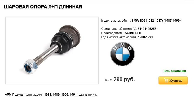 Интернет магазин fdparts.ru