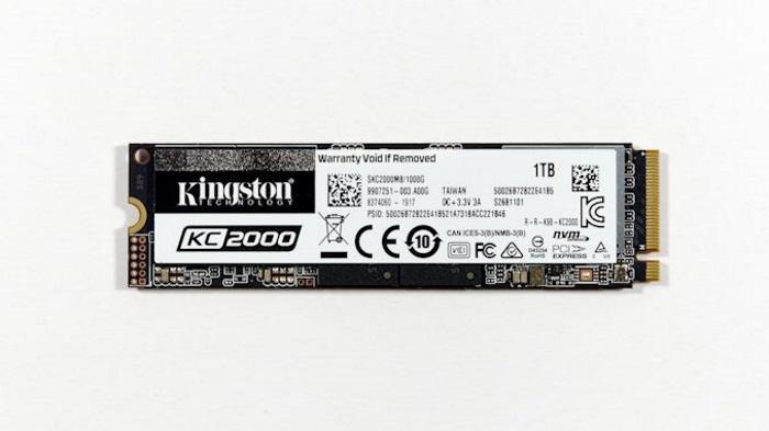 Встречайте SSD Kingston KC2000