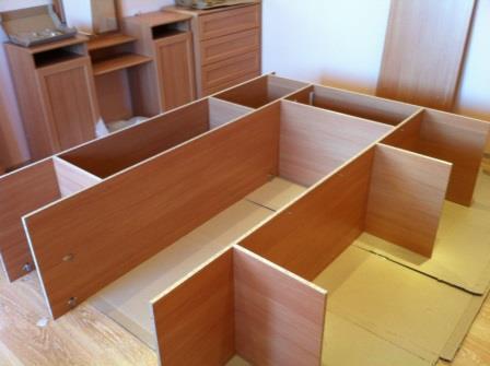 Сборка и разборка шкафов и другой мебели. Днепр (Днепропетровск).