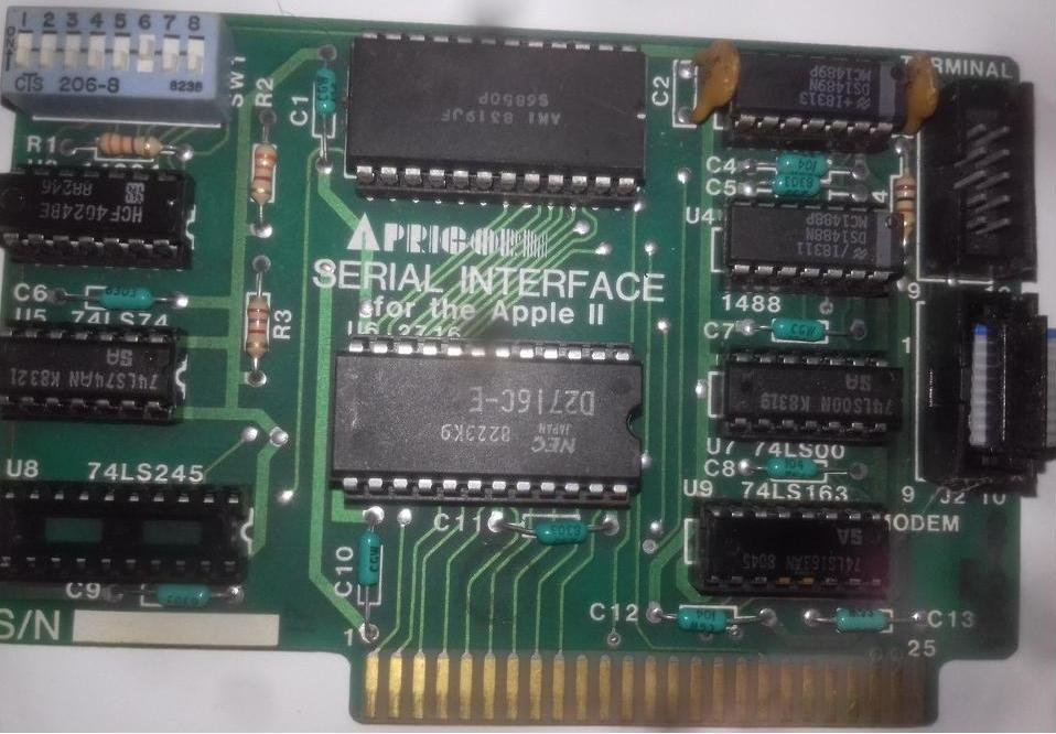 Сборка и настройка платы Apple-II SerialApricorn.1547461244