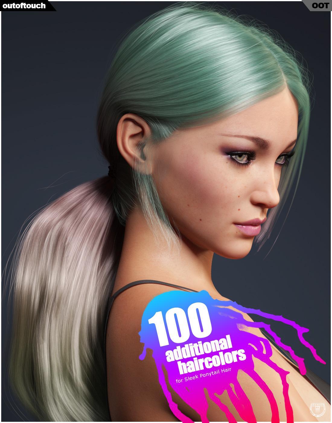 Sleek Ponytail Hair Texture XPansion
