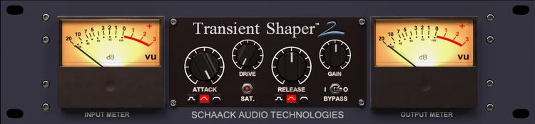 Transient Shaper settings