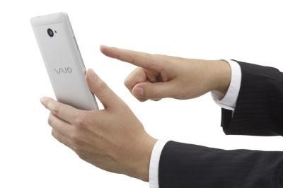 VAIO Запускает Android версию своего телефона Windows