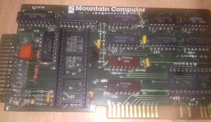 Сборка и настройка платы Apple-II VV55_Card.1546923555