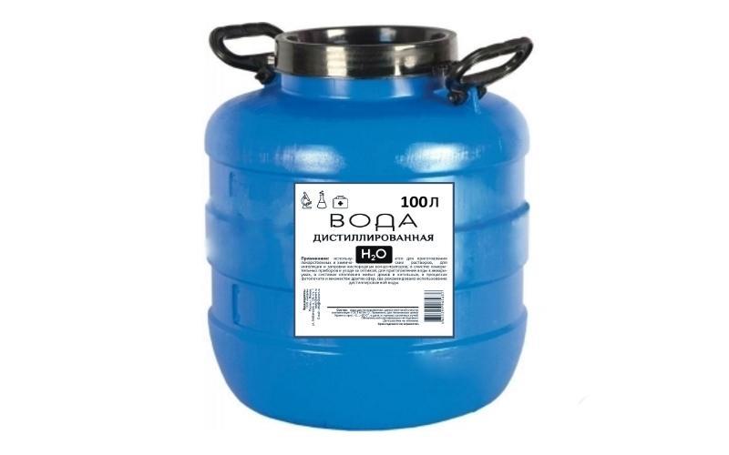 100 литров воды