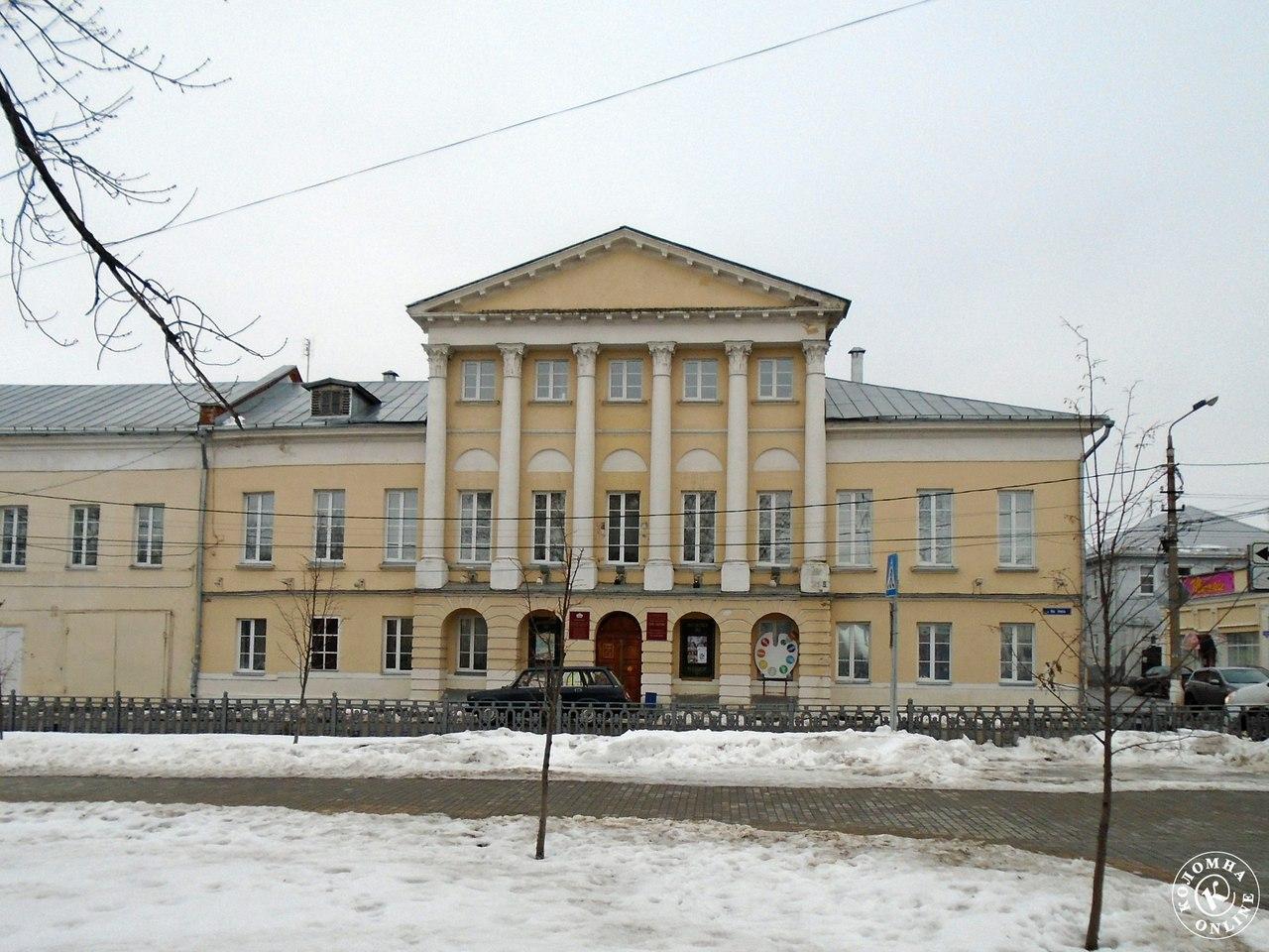 Достопримечательности Коломны: Дом Озерова и Абакумовский зал