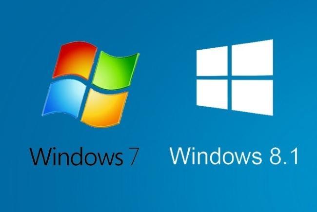 Ажиотаж созданный вокруг Windows 7 и 8.1