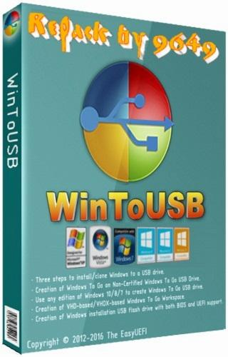 WinToUSB 5.0 RePack & Portable by 9649