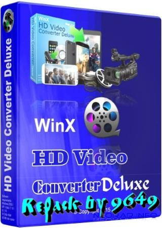 WinX HD Video Converter Deluxe 5.15.2.321 RePack & Portable by 9649