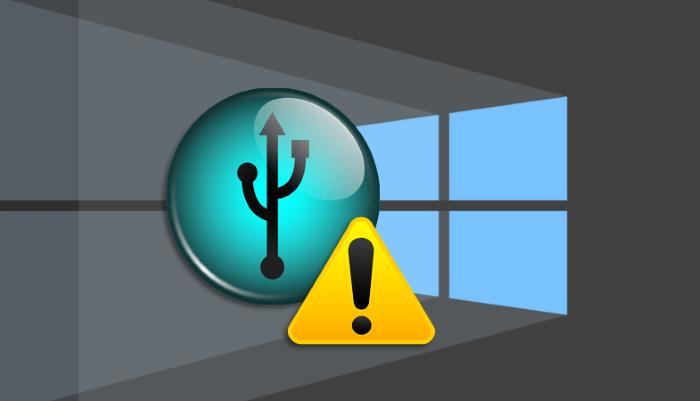 «Сбой запроса дескриптора USB-устройства» в Windows 10