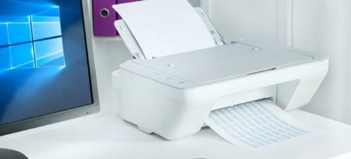 Очищаем очередь печати в Windows 10