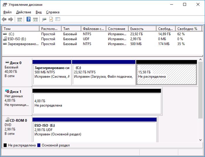 Windows 10 не видит жесткий диск: что делать