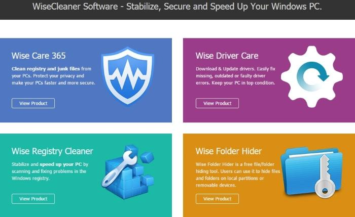 Бесплатные Promo - лицензии от WiseCleaner Software